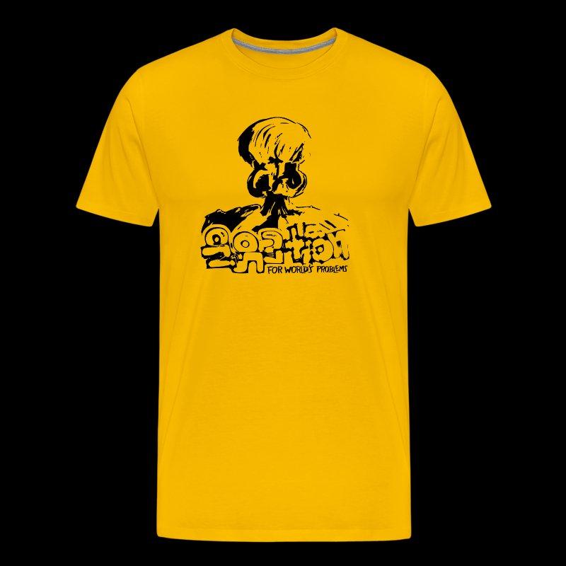 No Solution (black) - Männer Premium T-Shirt