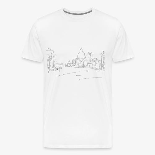 T-Shirt Dawn City, La Bordelaise - T-shirt Premium Homme