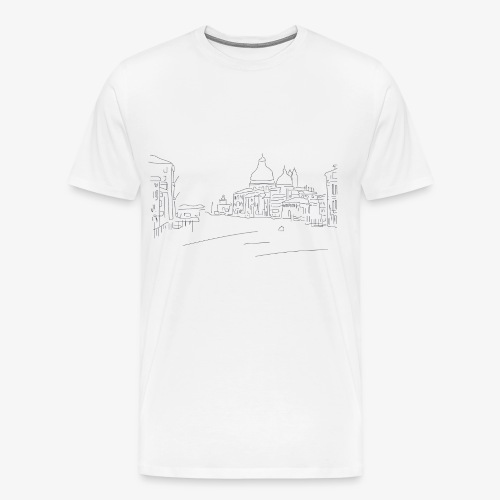 T-Shirt Dawn City, La Bordelaise - T-shirt Premium Homme