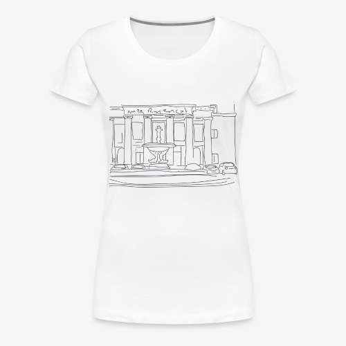T-Shirt Dawn Plaza, La Bordelaise - T-shirt Premium Femme