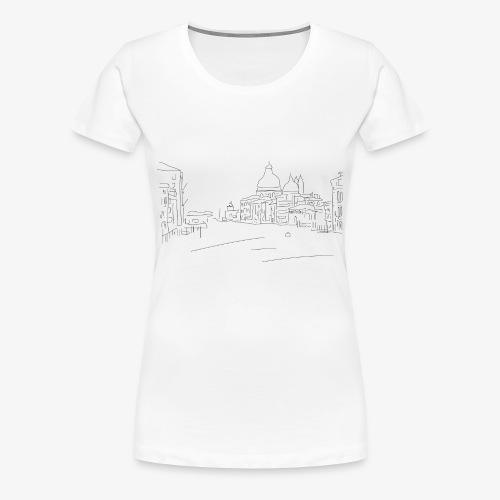 T-Shirt Dawn City, La Bordelaise - T-shirt Premium Femme