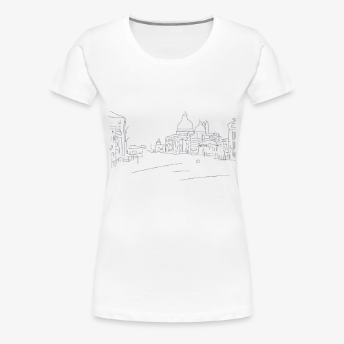 T-Shirt Dawn City, La Bordelaise - T-shirt Premium Femme