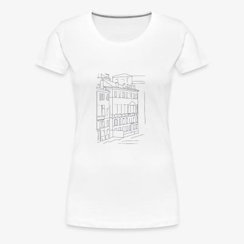 T-Shirt Dawn Hotel, La Bordelaise - T-shirt Premium Femme