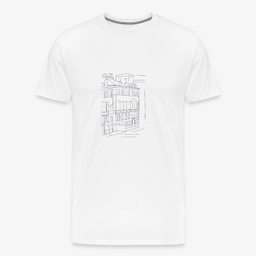 T-Shirt Dawn Hotel, La Bordelaise - T-shirt Premium Homme
