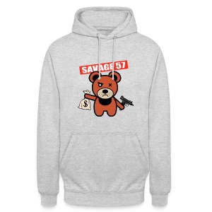 Savage 57  - Sweat-shirt à capuche unisexe