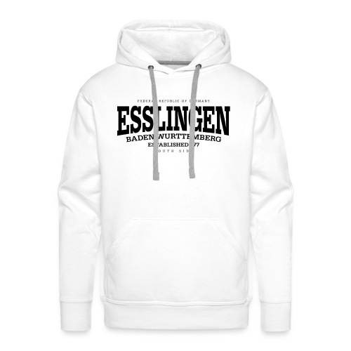 Esslingen (black Edt. '13) - Männer Premium Hoodie