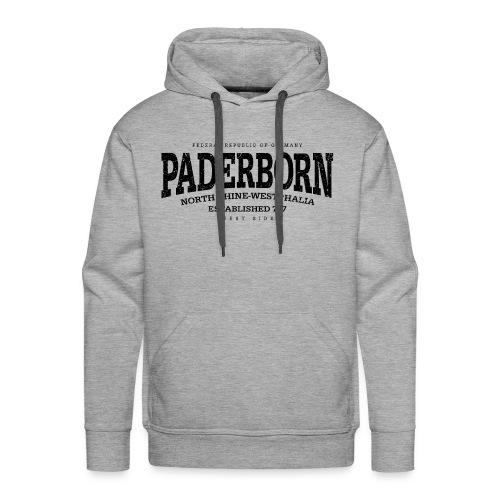 Paderborn (black oldstyle Edt. '13) - Männer Premium Hoodie