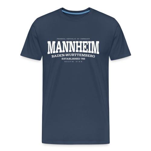 Mannheim (white Edt. '13) - Männer Premium T-Shirt