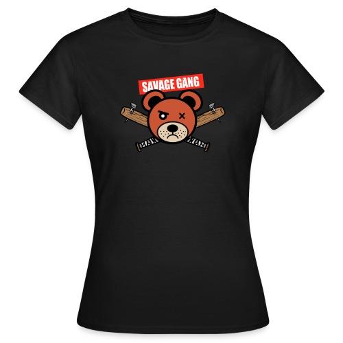 Savage gang - T-shirt Femme