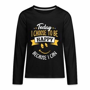 Teenager Premium shirt met lange mouwen - Teenager Premium shirt met lange mouwen
