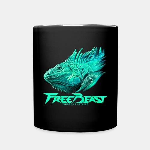 VINRECH CLOTHING - FREE BEAST - IGUANA TURQUOISE - Mug - Mug uni