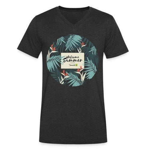 Welcome Summer Homme - T-shirt bio col V Stanley & Stella Homme