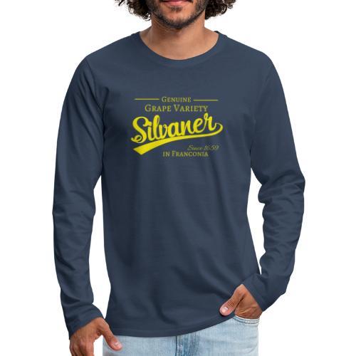 Herren Langarm-Shirt: Genuine Grape Variety - Silvaner - Männer Premium Langarmshirt