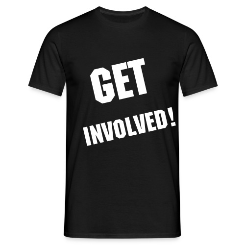 get involved - Men's T-Shirt