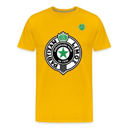 Partizan Jaune - T-shirt Premium Homme
