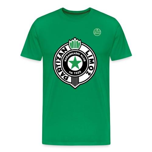 Partizan Vert - T-shirt Premium Homme
