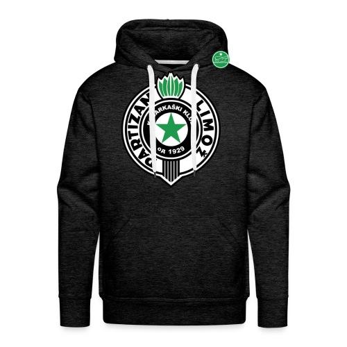 Partizan Hoodie - Sweat-shirt à capuche Premium pour hommes