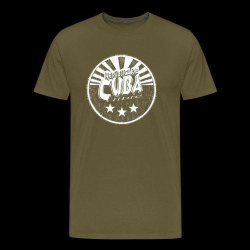 Cuba Libre (1c white) - Premium T-skjorte for menn
