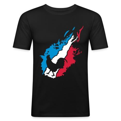 T-shirt homme Le Coq français - T-shirt près du corps Homme