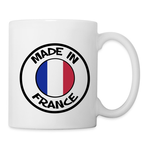 Mug Tasse Made in France - Mug blanc