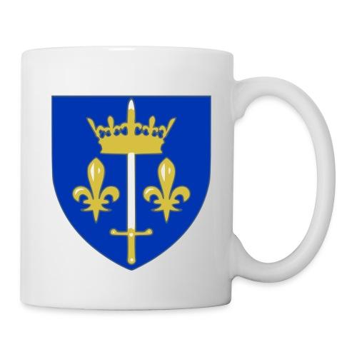 Mug Tasse Jeanne d'Arc - Mug blanc