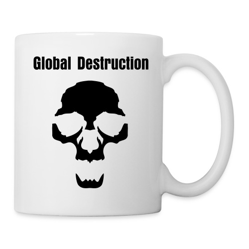 Tasse Global Destruction - Mug blanc