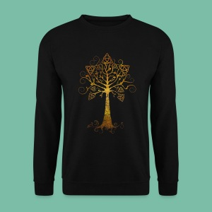 Sweat shirt manches longues arbre phare Brocéliande Spirit - Sweat-shirt Homme
