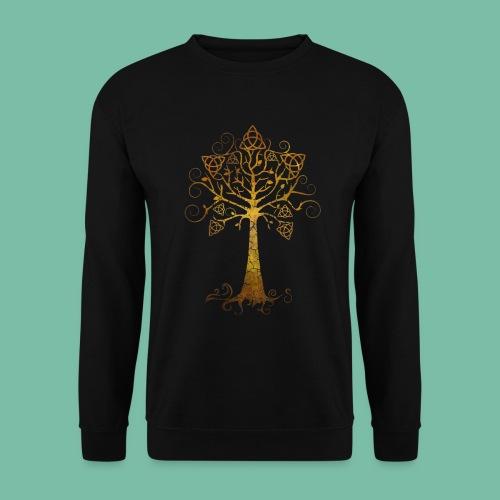 Sweat shirt manches longues arbre phare Brocéliande Spirit - Sweat-shirt Homme