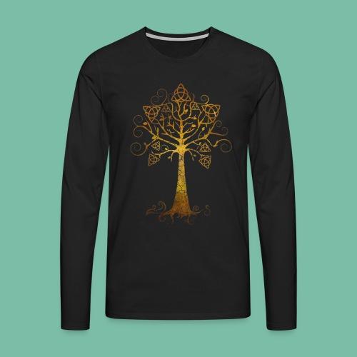 Tshirt manches longues arbre phare Brocéliande Spirit - T-shirt manches longues Premium Homme