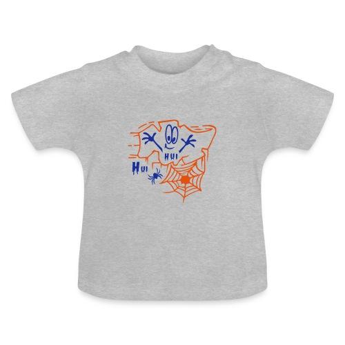 Baby Shirt mit Spinnennetz - Baby T-Shirt