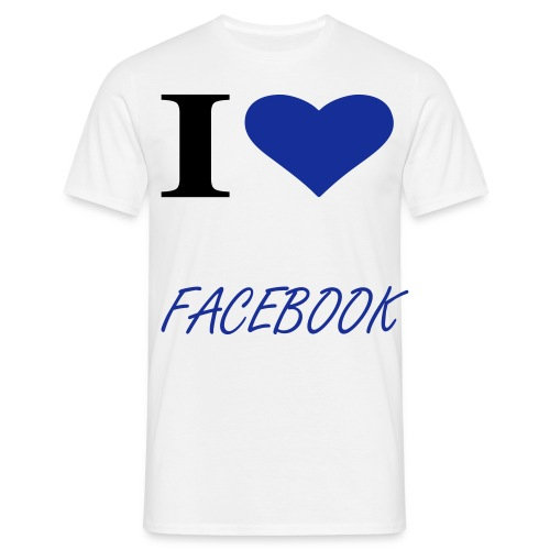 Facebook t-shirt - Men's T-Shirt