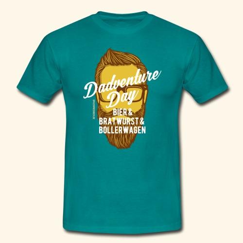 lustiges Vatertags-Shirt Dadventure Day - Männer T-Shirt