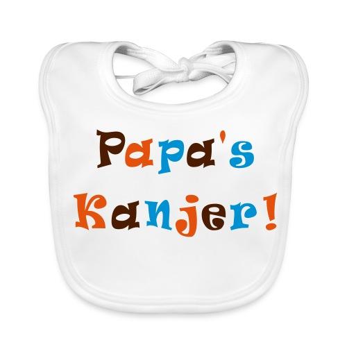 Slab papa's Kanjer  - Bio-slabbetje voor baby's