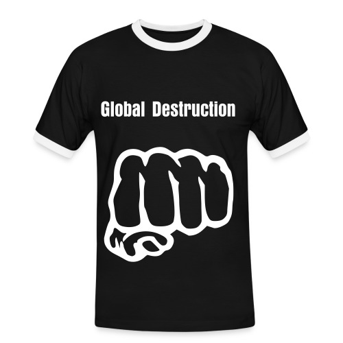 Sweet Global Destruction - T-shirt contrasté Homme