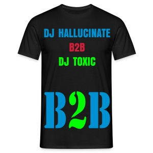 For Dj Hallucinate and Dj Toxic Fans - Men's T-Shirt