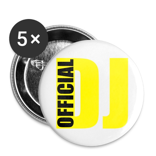 Offical DJ - Buttons small 25 mm