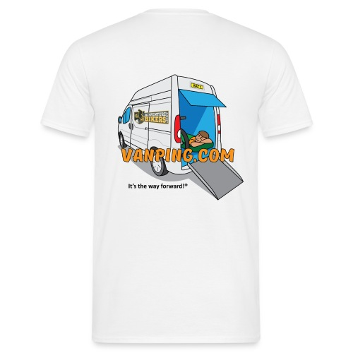 Vanping T Shirt (Men) rear logo - Men's T-Shirt