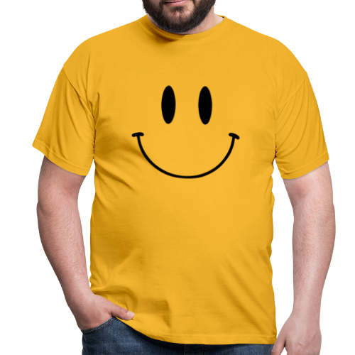 T-shirt, Original Smiley Face - T-shirt herr