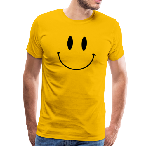 T-shirt Premium, Original Smiley Face - Premium-T-shirt herr