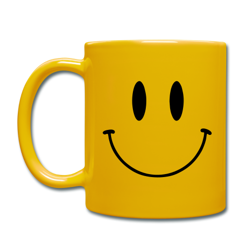 Mugg, Original Smiley Face - Enfärgad mugg