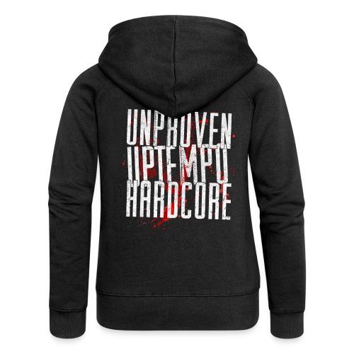 Unproven - Uptempo Hardcore - Woman Vest - Vrouwenjack met capuchon Premium