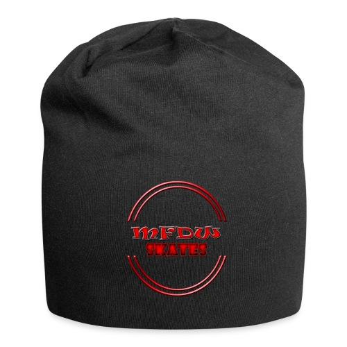 mfdw logo beanie full black - Jersey Beanie