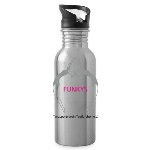 Funky Trinkflasche 600ml - Trinkflasche