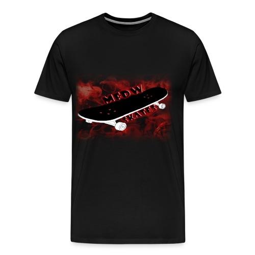 Skateboard logo black - Men's Premium T-Shirt