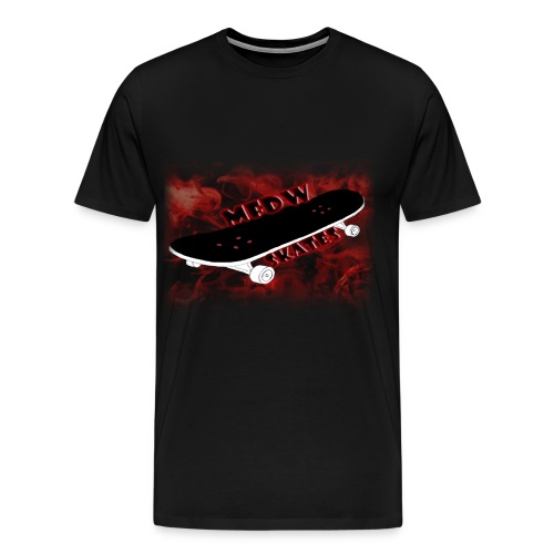 Skateboard logo black - Men's Premium T-Shirt