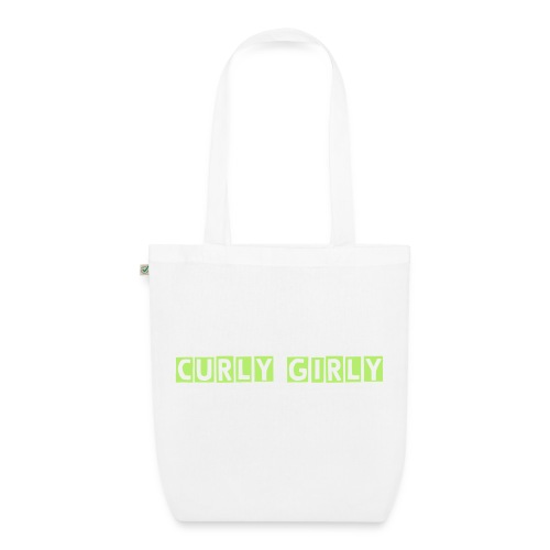 Curly Girly Bag - EarthPositive Tote Bag