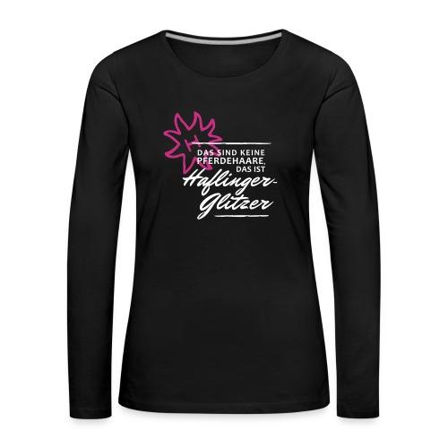T-Shirt Spruch Haflingerg