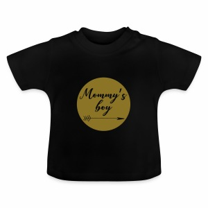 Mommy's Boy - Baby T-shirt
