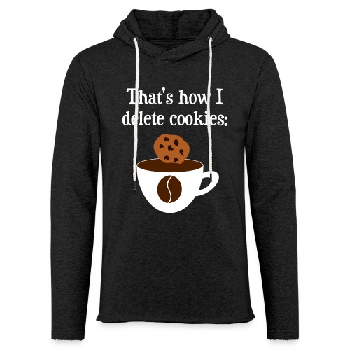 Cookies Kaffee Nerd Geek Pullover & Hoodies - Leichtes Kapuzensweatshirt Unisex