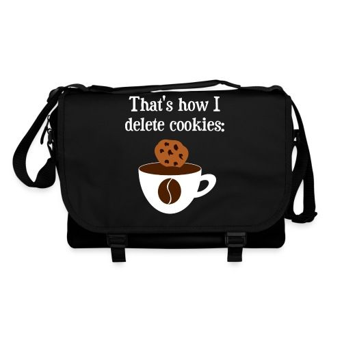 Cookies Kaffee Nerd Geek Taschen & Rucksäcke - Umhängetasche